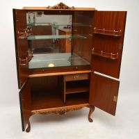 Antique Burr Walnut Cocktail Drinks Cabinet | Interior ...