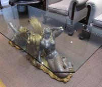 Mid Century Mermaid Coffee Table