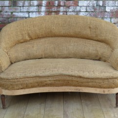 A Sofa In The Forties Chenille Reclining 1940s French For Re Upholstery Interior Boutiques