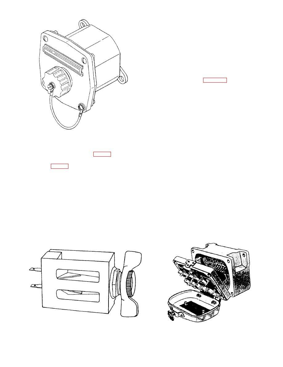 Figure 5-2.--Single-gang sound-powered telephone jackbox.
