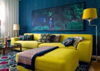 The Best Yellow Living Room Ideas   Interior Decoration