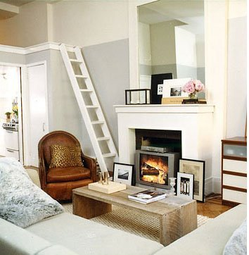 small space living room makeover fireplace tv | Dynamic Mounting
