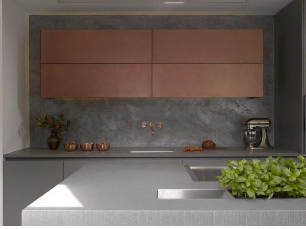 pilihan warna cat interior rumah; warna tembaga