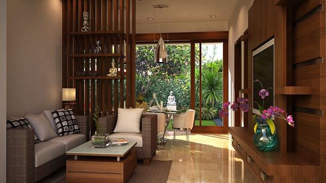 11 Foto Contoh Desain Modern Minimalis Ruang Tamu Rumah ...