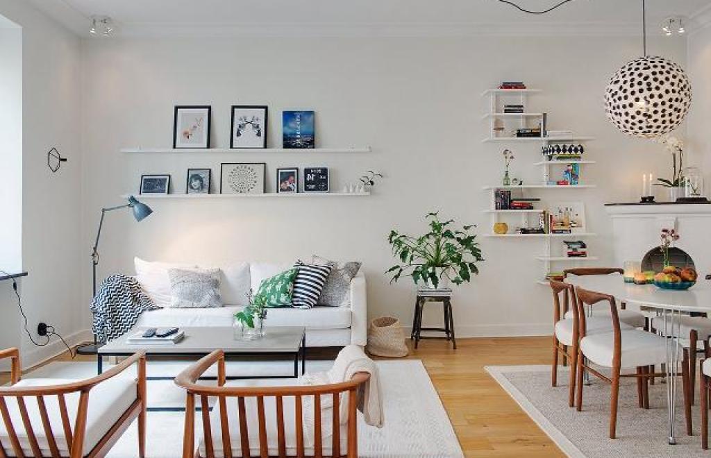 gaya desain interior skandinavia