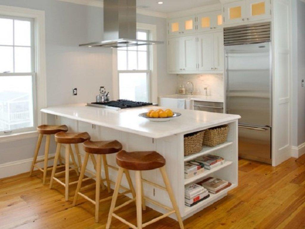 model peninsula untuk dapur kecil