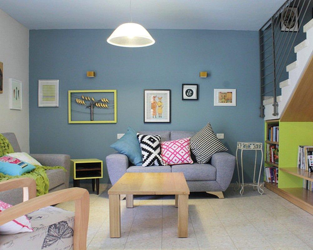 Warna Cat Rumah Untuk Ruang Kecil Dekorhom