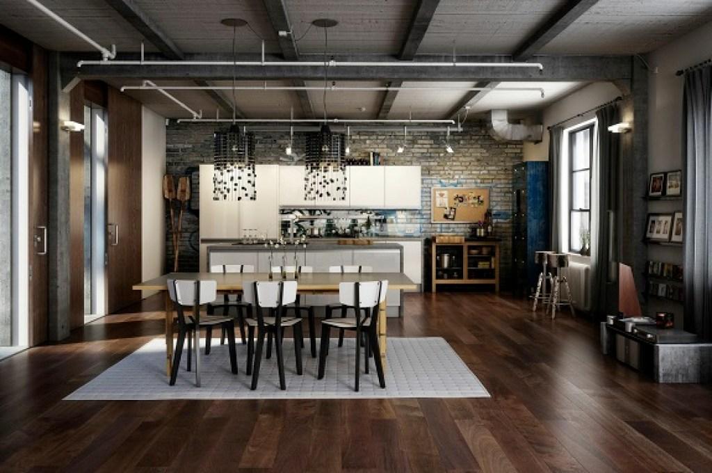 Mengenal Elemen Dasar Dan Ciri Khusus Desain Rumah Gaya Industrial