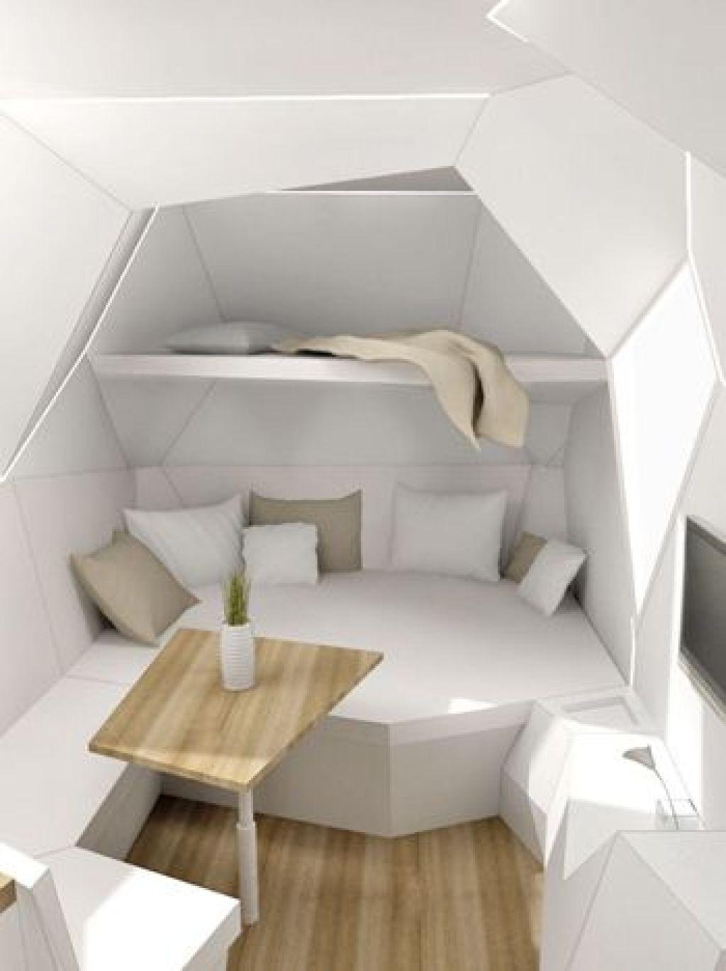gaya desain futuristik