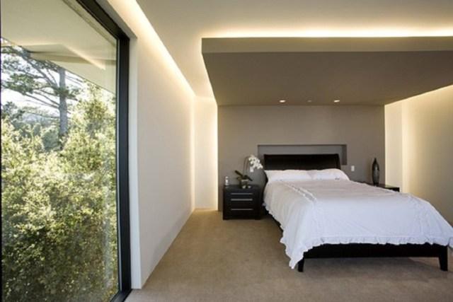 desain langit-langit kamar tidur, gaya minimalis