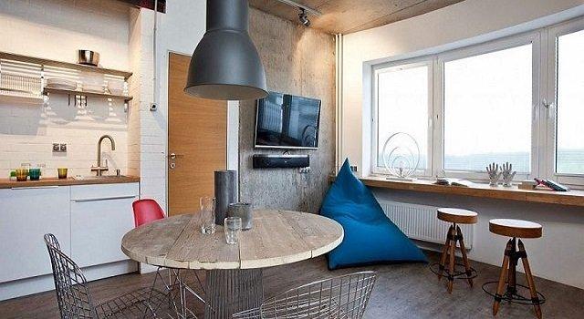 Desain Kamar Apartemen Tipe Studio Referensi Menarik