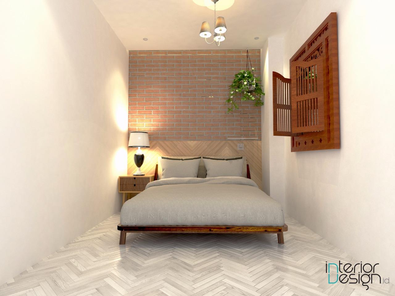 Kamar Tidur Utama  Apartemen Jakarta  InteriorDesignid