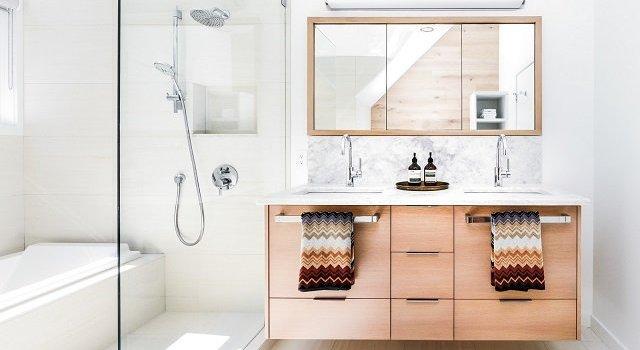 Desain Kamar Mandi Minimalis Modern Gaya Skandinavia Interiordesign Id