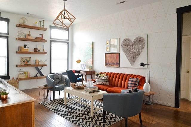 desain ruang tamu kecil minimalis