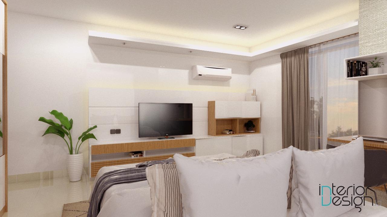 Kamar Tidur Utama  Apartemen Tamansari Semanggi Jakarta