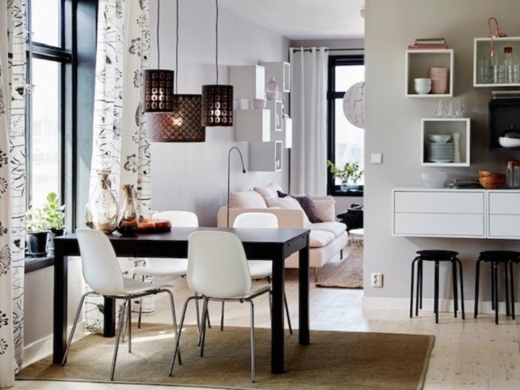 desain ruang makan kecil