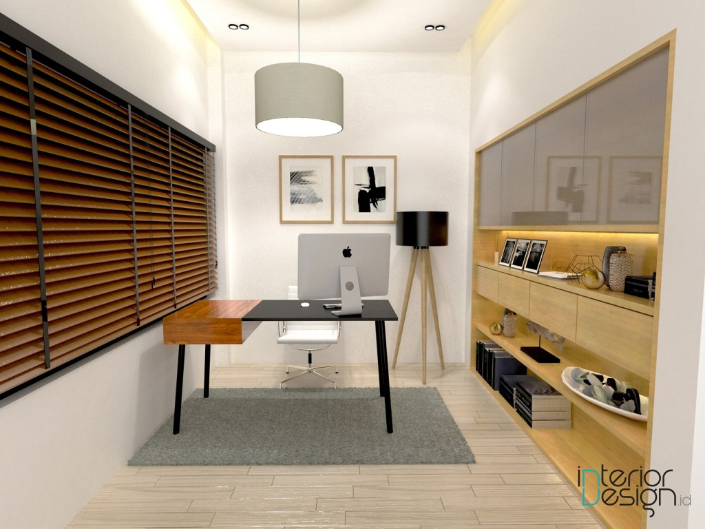 jasa desain interior; desain home office