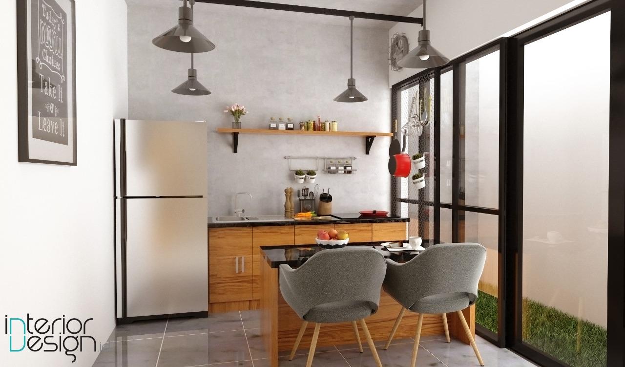 Desain Ruang Makan Mini Bar