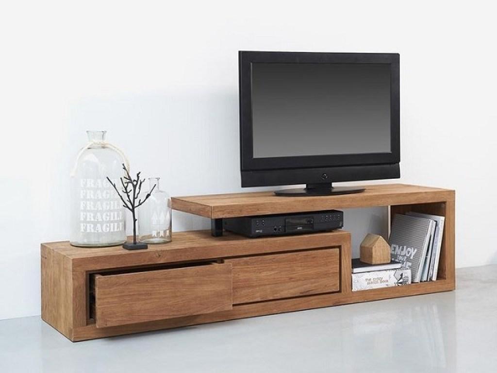 Desain Meja Tv Minimalis Yang Simpel Dan Fungsional Interiordesignid