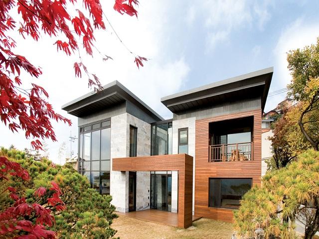 desain rumah ala korea modern