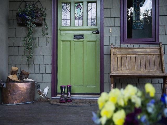 Warna Cat Teras Rumah; Gagasan Eksterior Rumah Agar Dapat ...