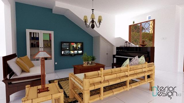 interior tradisional eklektik