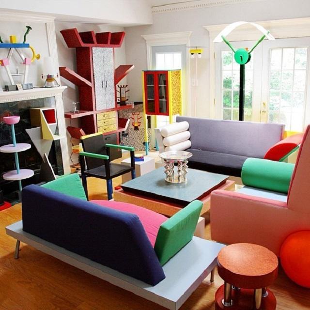 ruang tamu post modern