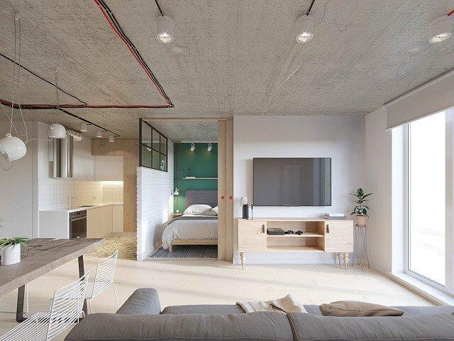 pilihan warna interior rumah