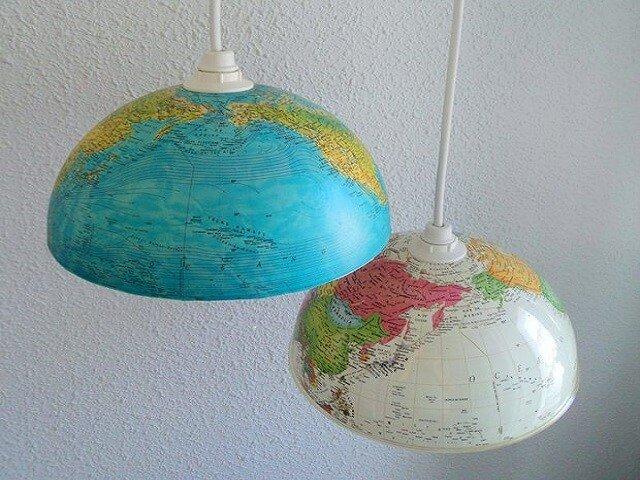 cara membuat lampu hias gantung dari barang bekas