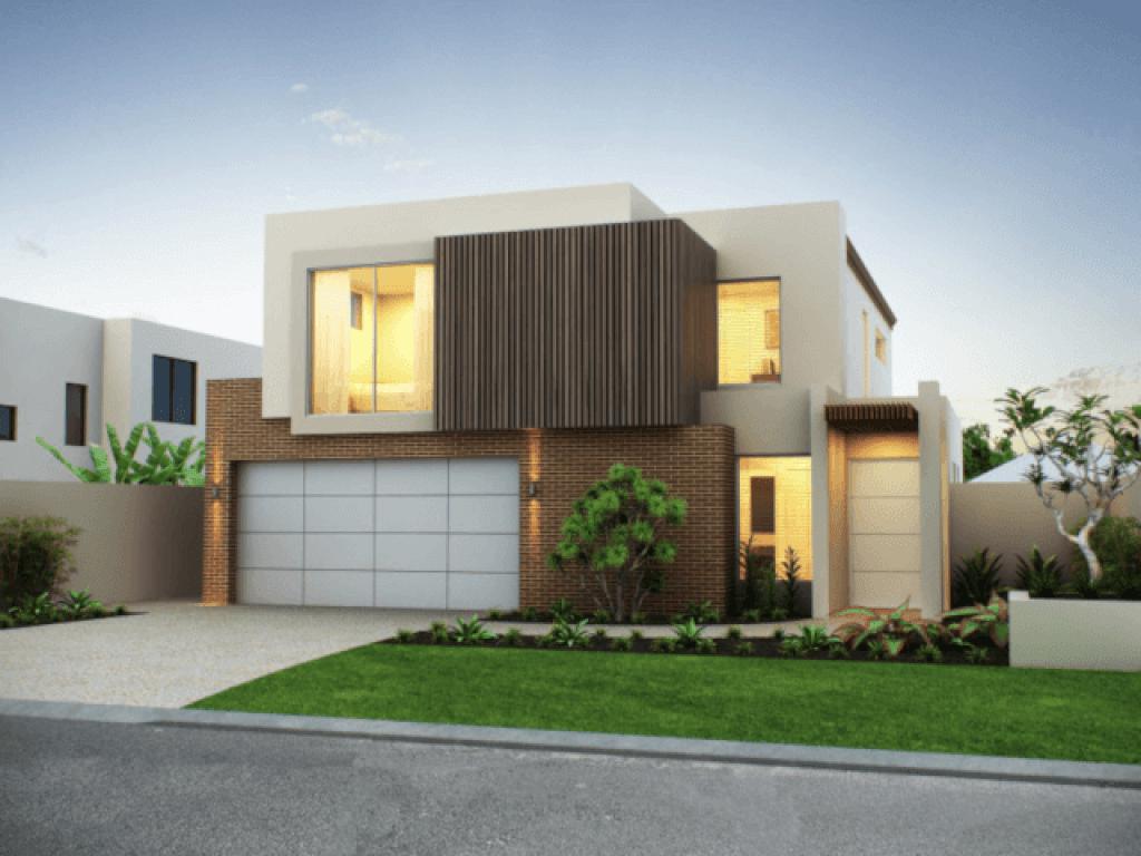 desain fasad rumah modern gaya kontemporer