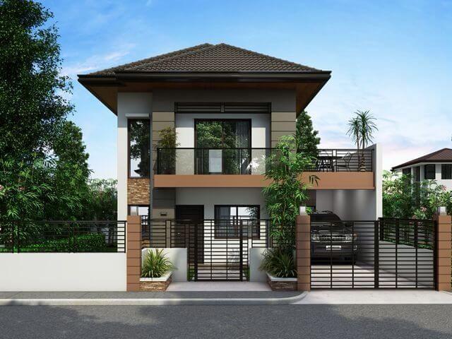 5000 Koleksi Foto Desain Rumah Modern Dua Tingkat Terbaik Download Gratis