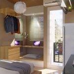 desain apartemen studio