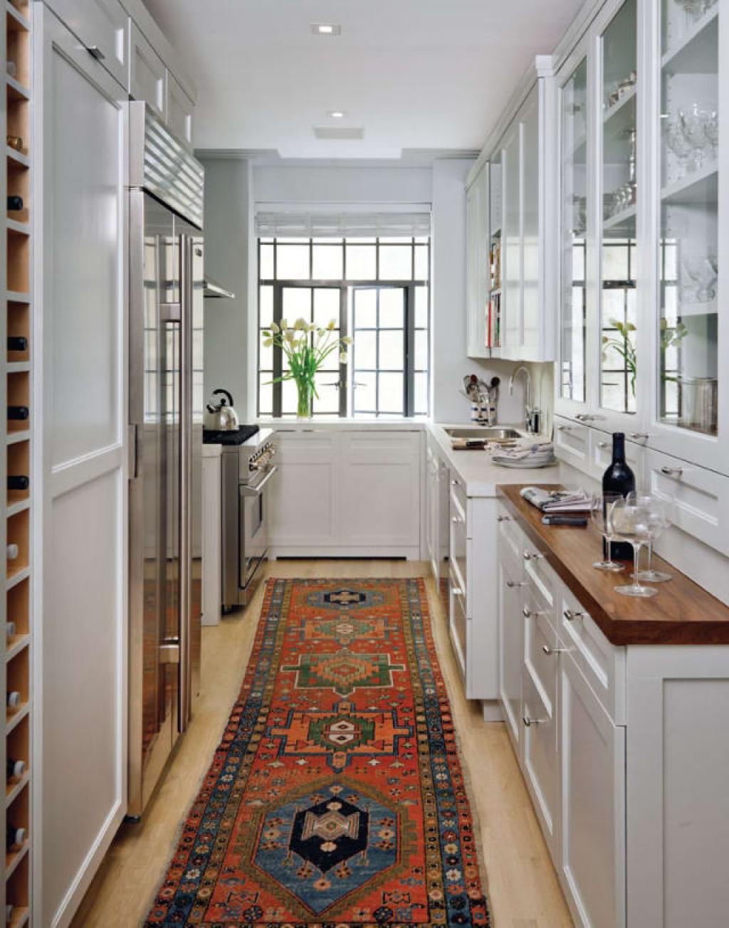 Karpet merah di dapur
