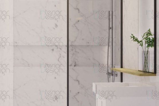 Desain kamar mandi skandinavia