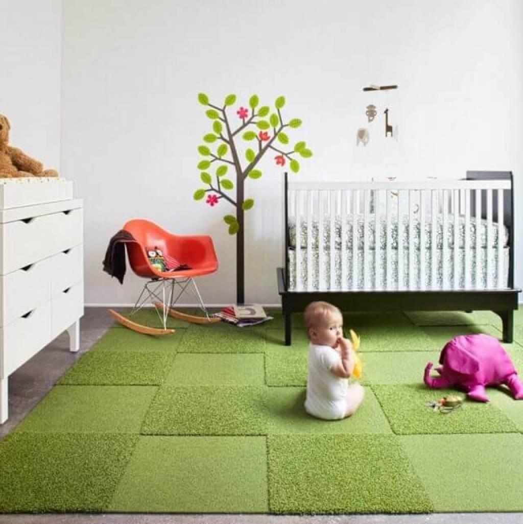 karpet kamar tidur bayi