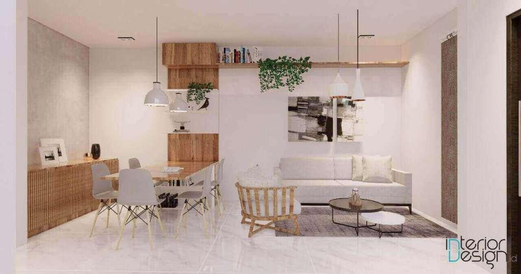 Dekorasi ruang keluarga moderen