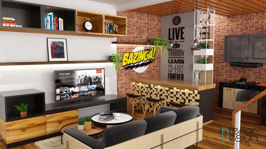 Dekorasi ruang keluarga yang kreatif