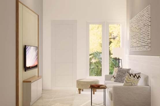 ruang tamu klasik modern
