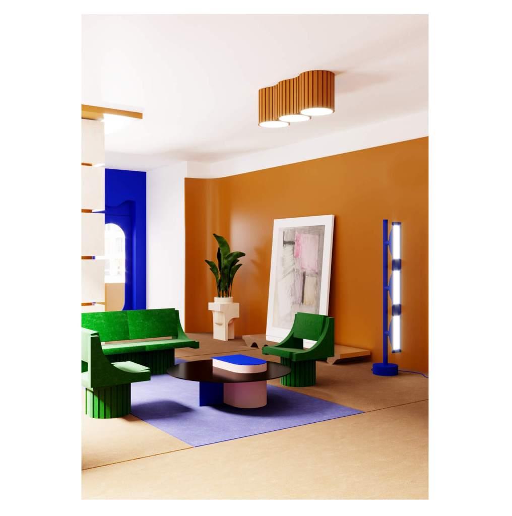 Desain apartemen unik