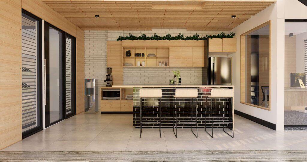 interior area santai minimalis modern