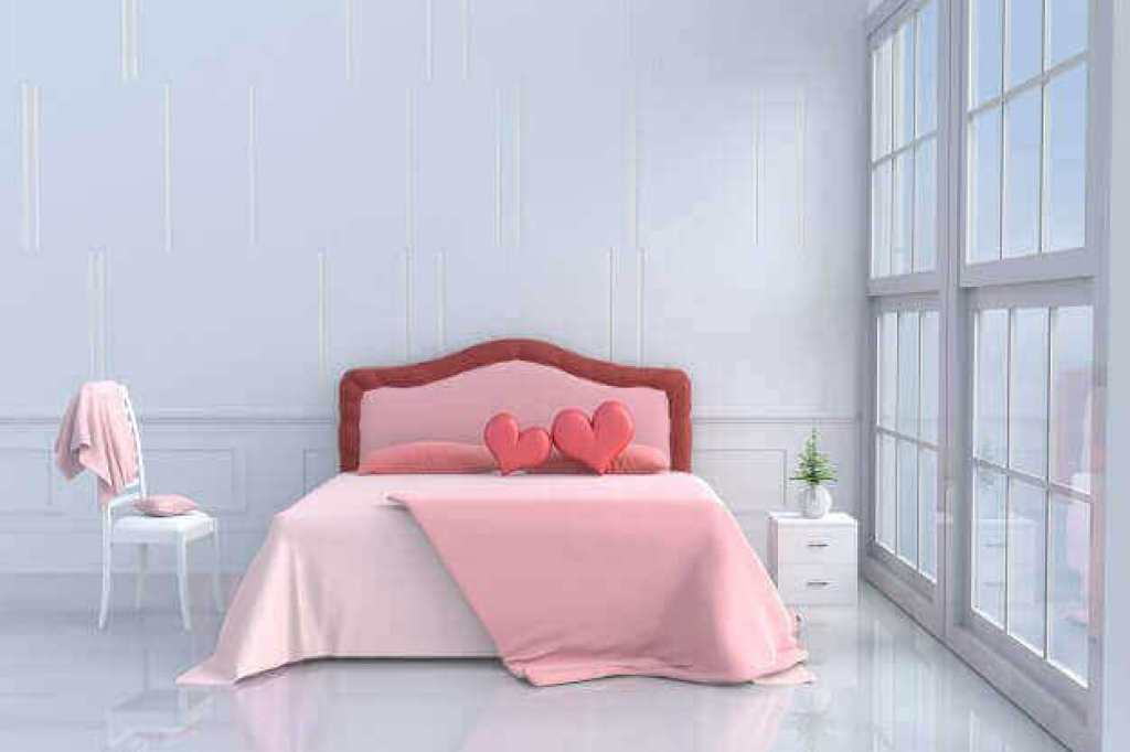 dekorasi kamar tidur valentine