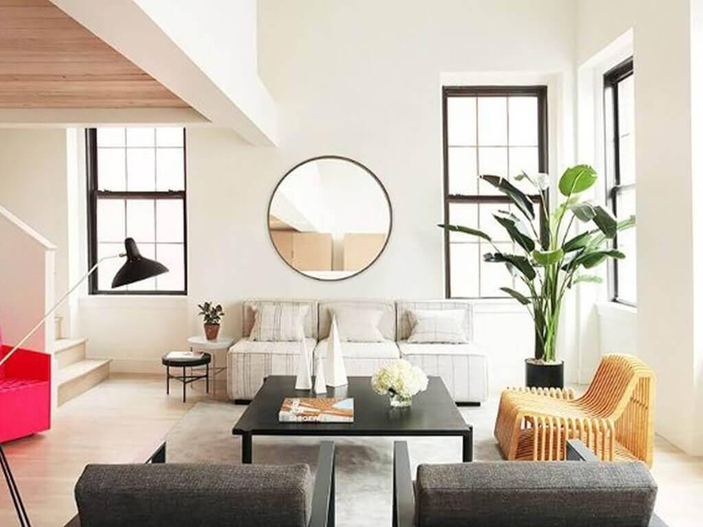 Smart living: cermin di atas sofa untuk ruangan kecil