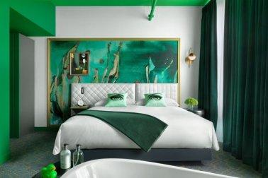 desain kamar hotel modern yang unik