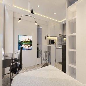 apartemen modern minimalis
