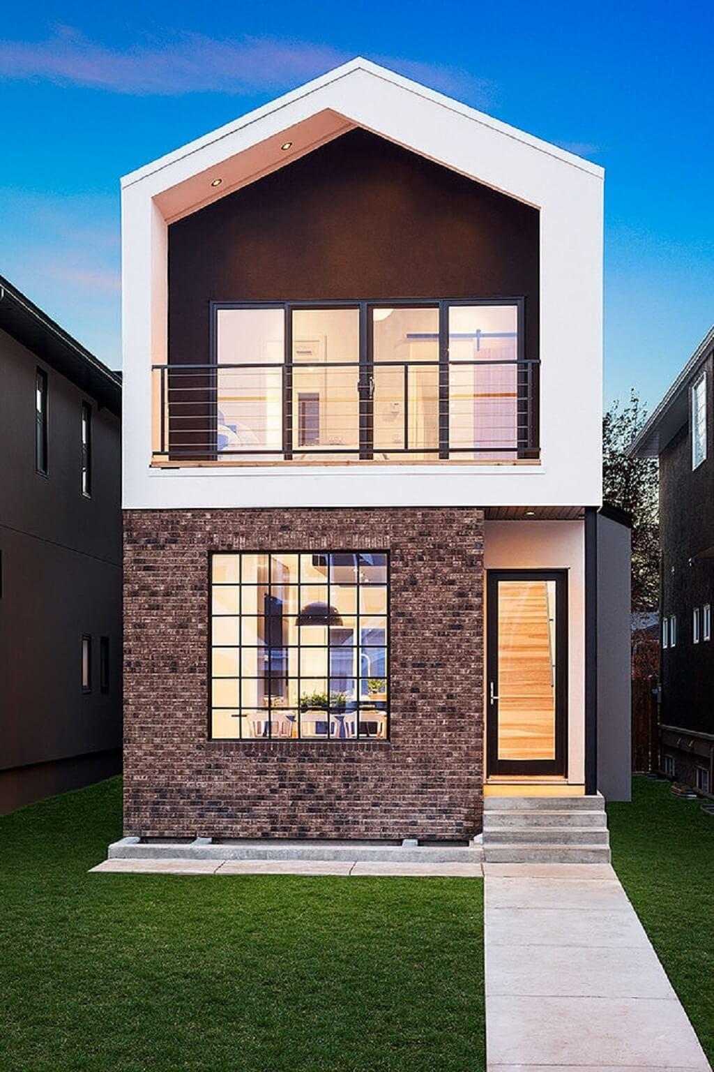 desain fasad rumah yang sederhana