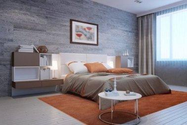 ide warna cat kamar tidur romantis