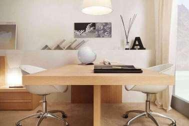 meja kerja minimalis untuk pengguna ganda