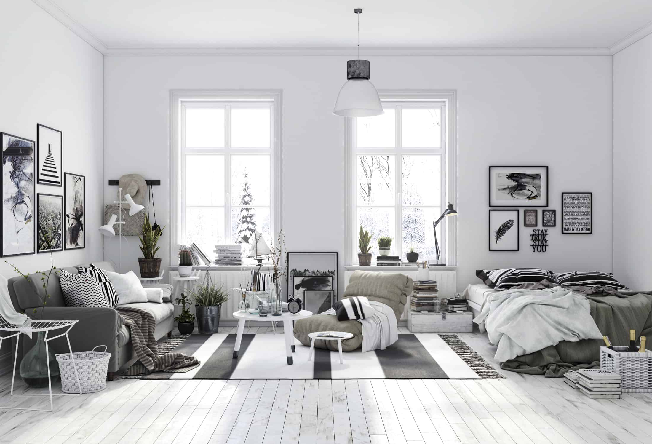 Like many styles of interior design other scandinavian