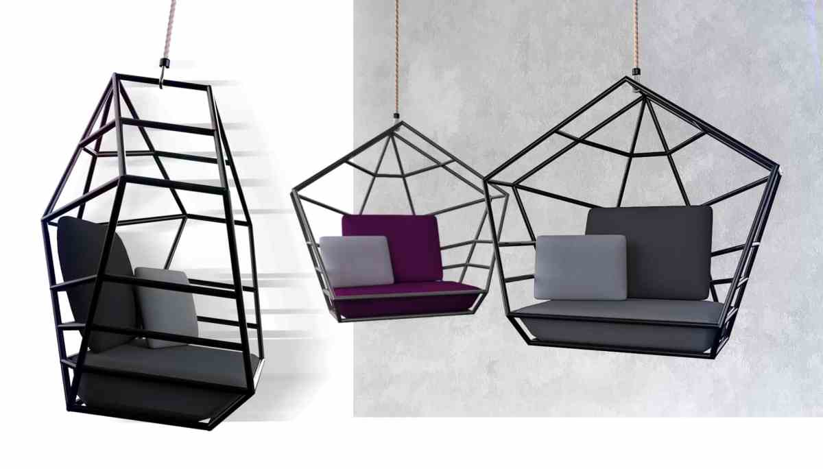 """Poly"" / Swing Chair - Silla Colgante Oscilante"
