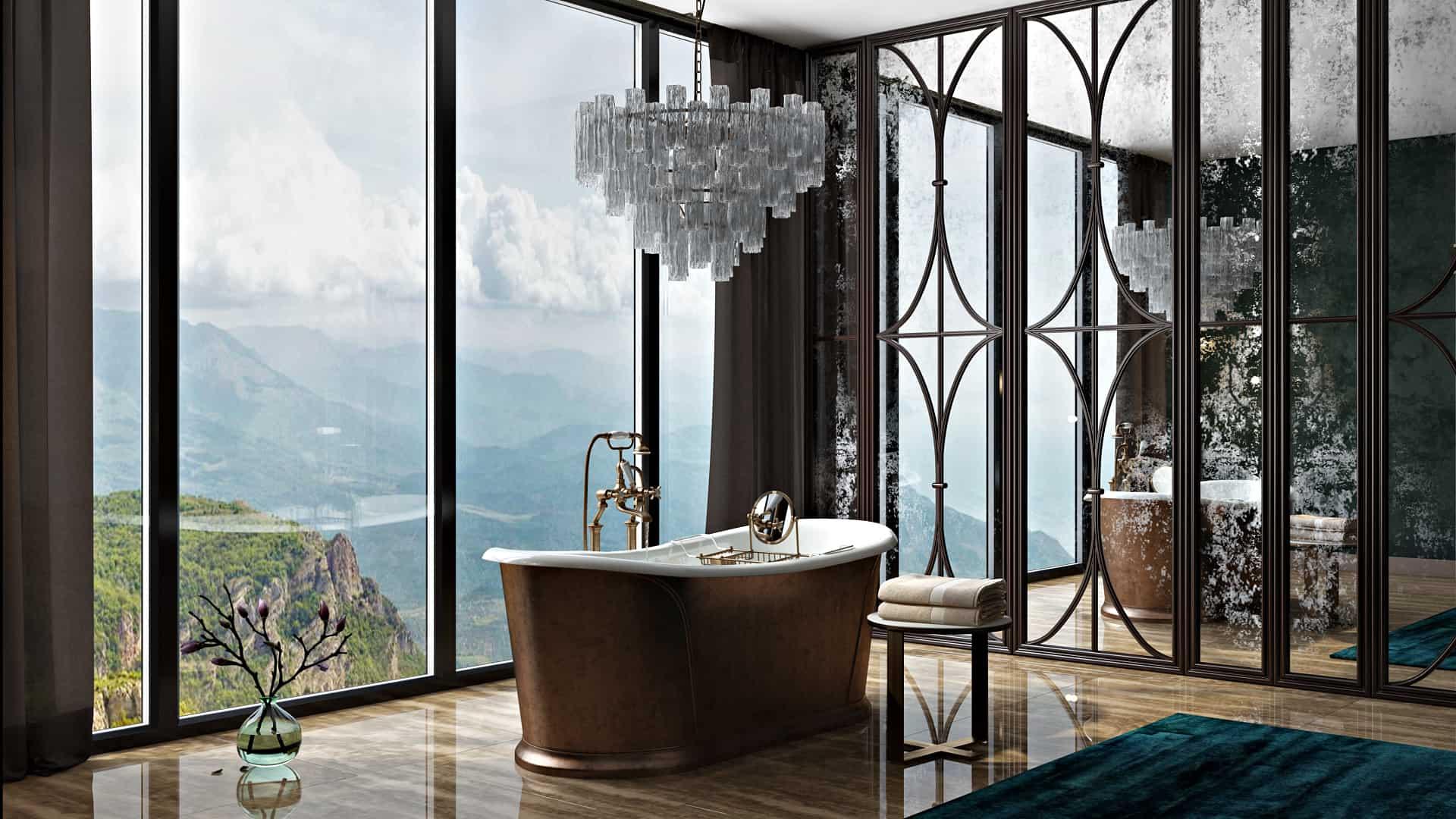 Luxury Bathroom - Interior Designio